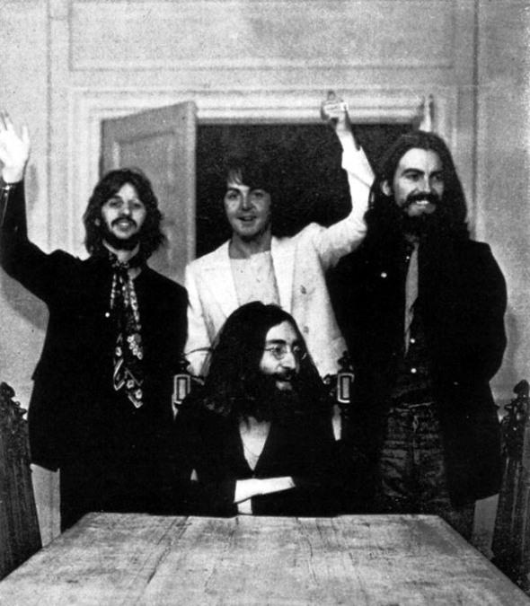 The Beatles last pic