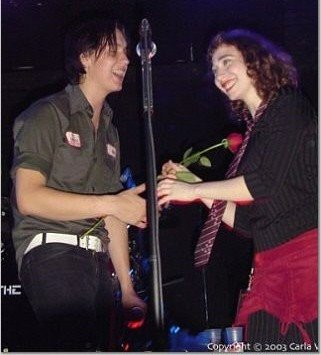 the strokes , julian casablancas and regina spektor