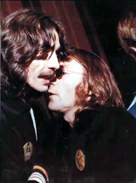 John Lennon George Harrison Last Pic Together Listen To This