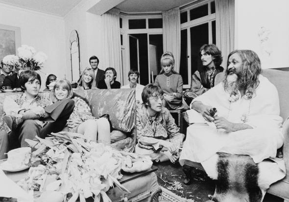 The Beatles and Maharishi Manesh Yogi