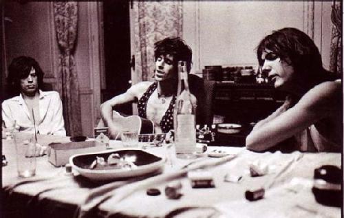 Mick Jagger, Keith Richards & Gram Parsons