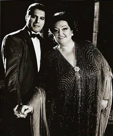 Freddie Mercury Montserrat Caballe Barcelona The Fausto Rocks Yeah