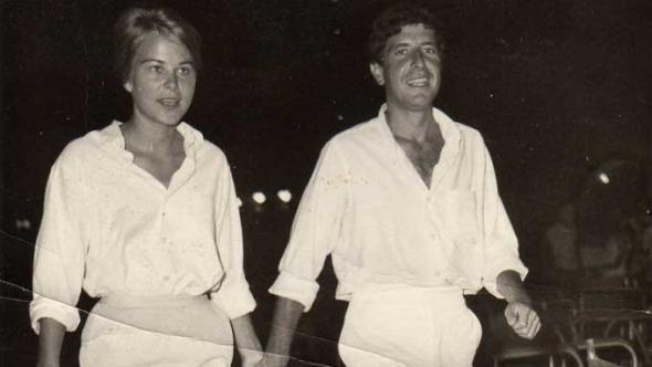 Leonard Cohen and Marianne Jensen