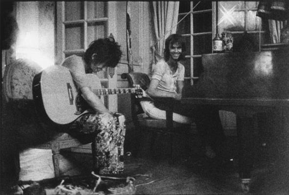 Keith Richards & Nicky Hopkins