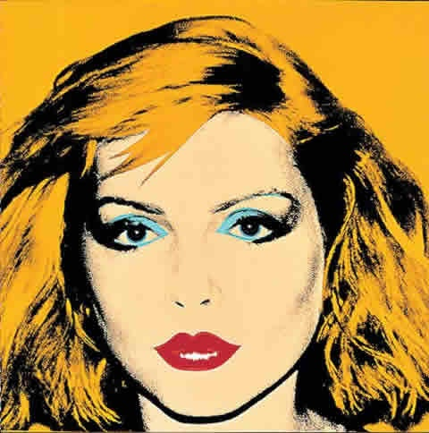 Blondie, Debbie Harry by Andy Warhol