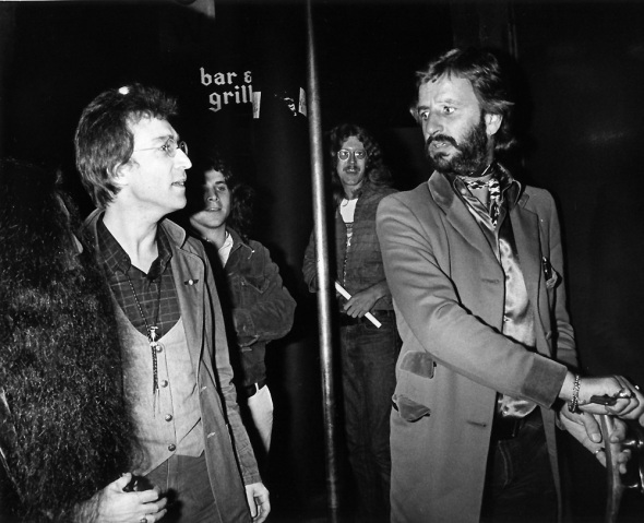 John Lennon and Ringo Starr On The Rox-1976