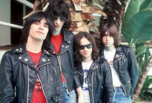 Ramones: Dee Dee, Joey, Tommy, Johnny.