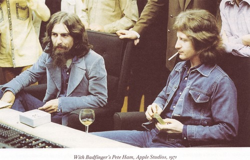 George Harrison & Pete Ham