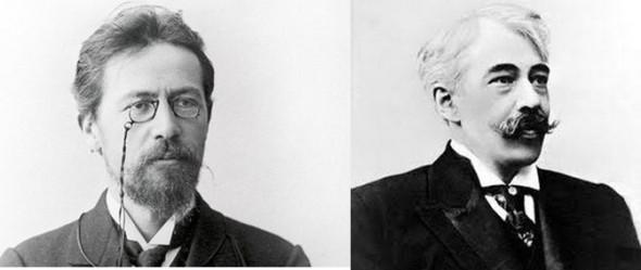 Antón Chéjov y Konstantín Stanislavski