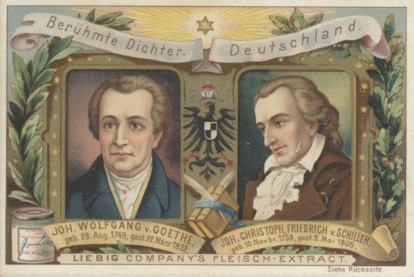 Goethe y Schiller