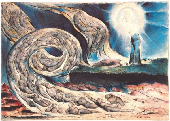 William Blake >> Torbellino de amantes