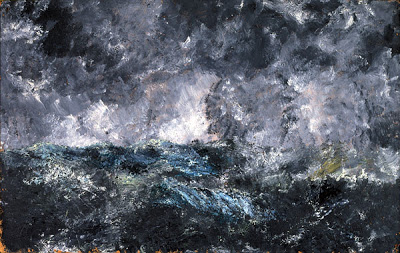 Strindberg Storm in the Skerries (The Flying Dutchman), 1892