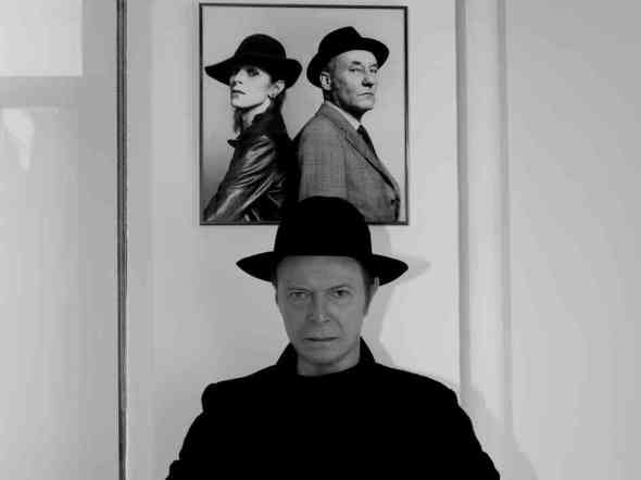 David Bowie and William S, Burroughs