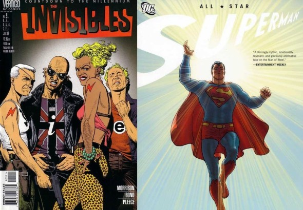 The Invisibles & All-Star Superman