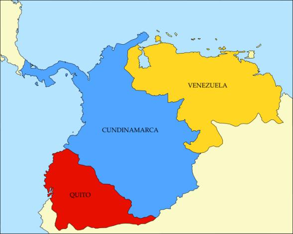 bandera gran colombia