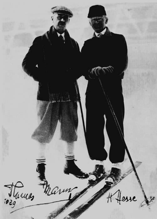 Hermann Hesse & Thomas Mann