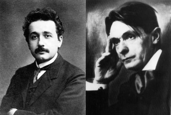 Albert Einstein & Rudolf Steiner
