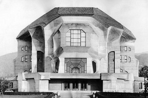 """Rudolf Steiner's second Goetheanum, completed 1928"