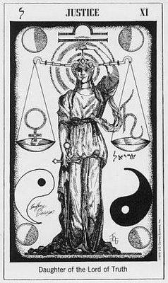 Carl Jung: Los Arquetipos y el Tarot en el psicoanálisis - Los arquetipos del Tarot e Interpretación de los 22 Arcanos Mayores Justicia