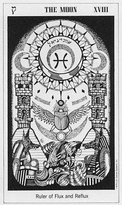 Carl Jung: Los Arquetipos y el Tarot en el psicoanálisis - Los arquetipos del Tarot e Interpretación de los 22 Arcanos Mayores Luna